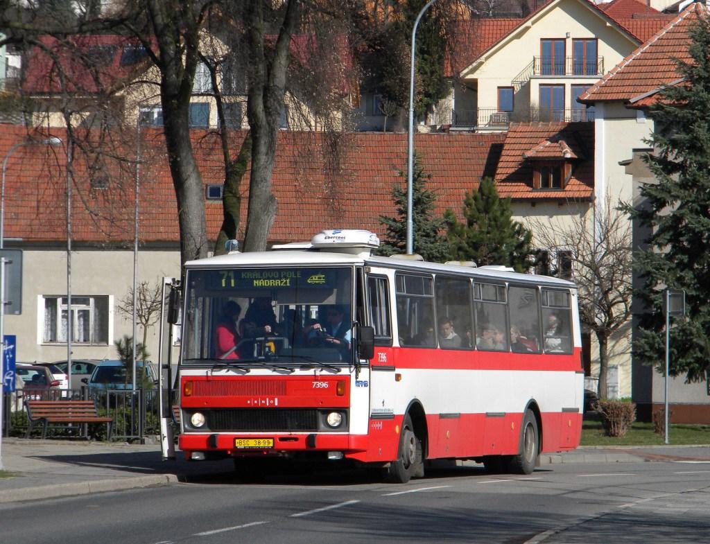 Fotogalerie » Karosa B732.1654.3 7396 | Brno | Ivanovice | Příjezdová | Kouty