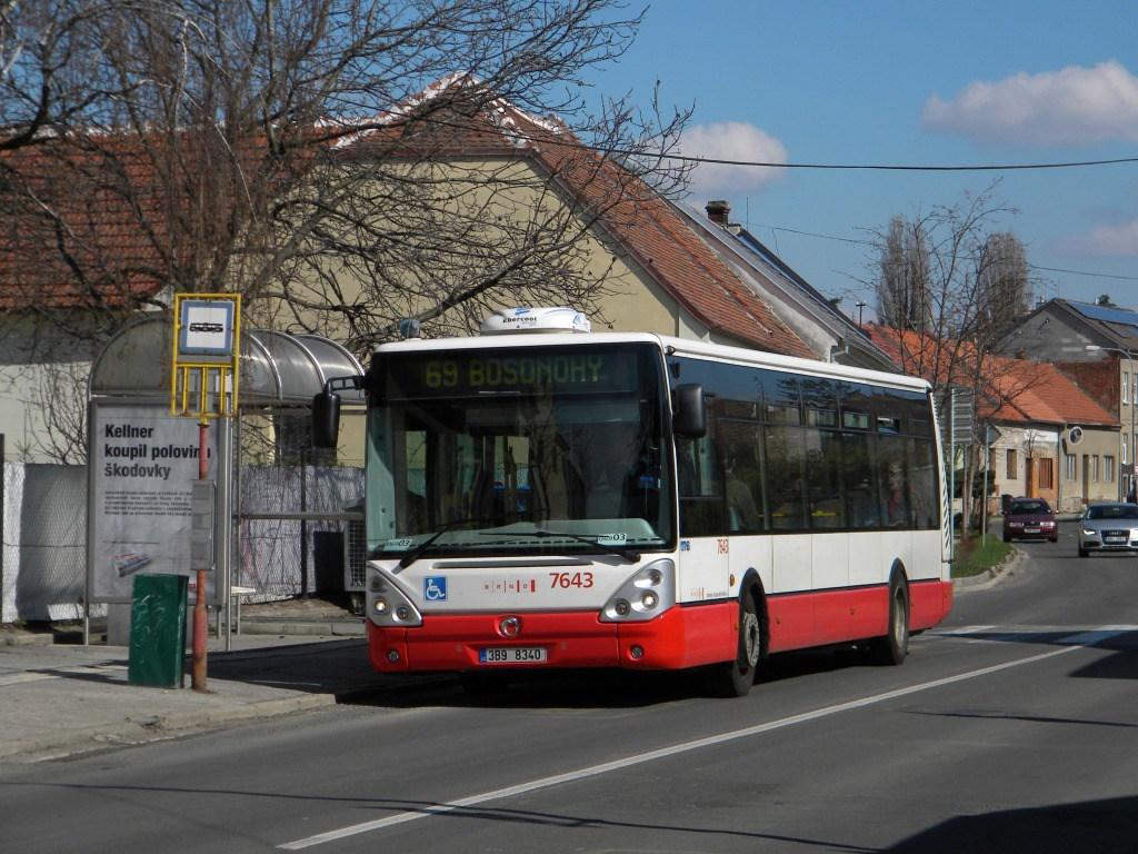 Fotogalerie » Irisbus Citelis 12M 7643   Brno   Starý Lískovec   Klobásova   Točná