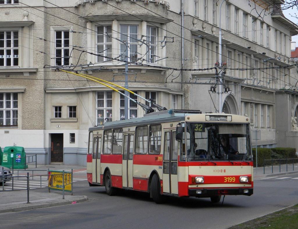 Fotogalerie » Škoda 14Tr07 3199 | Brno | Královo Pole | Slovanské náměstí | Slovanské náměstí