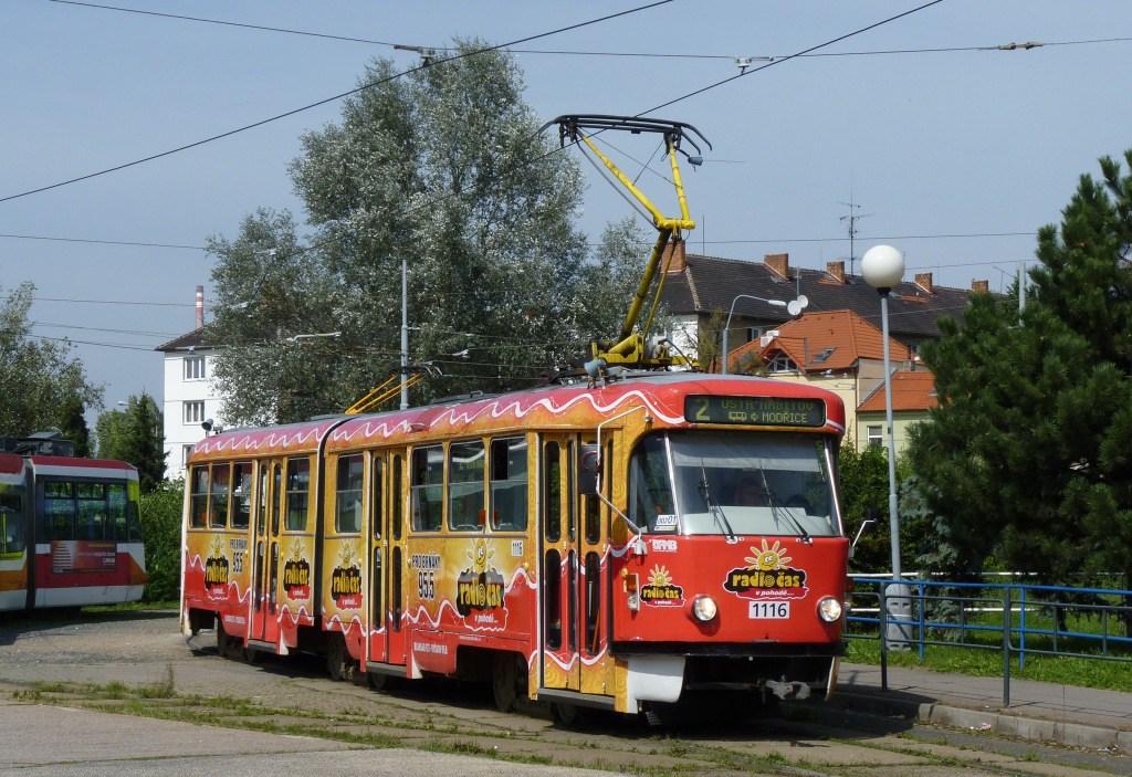 Fotogalerie » ČKD Tatra K2P 1116 | Brno | Židenice | Stará Osada