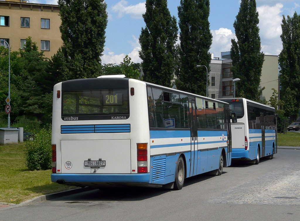 Fotogalerie » Karosa C954E.1360 1B4 8627 | Brno | Židenice | Lazaretní | Židenice, nádraží