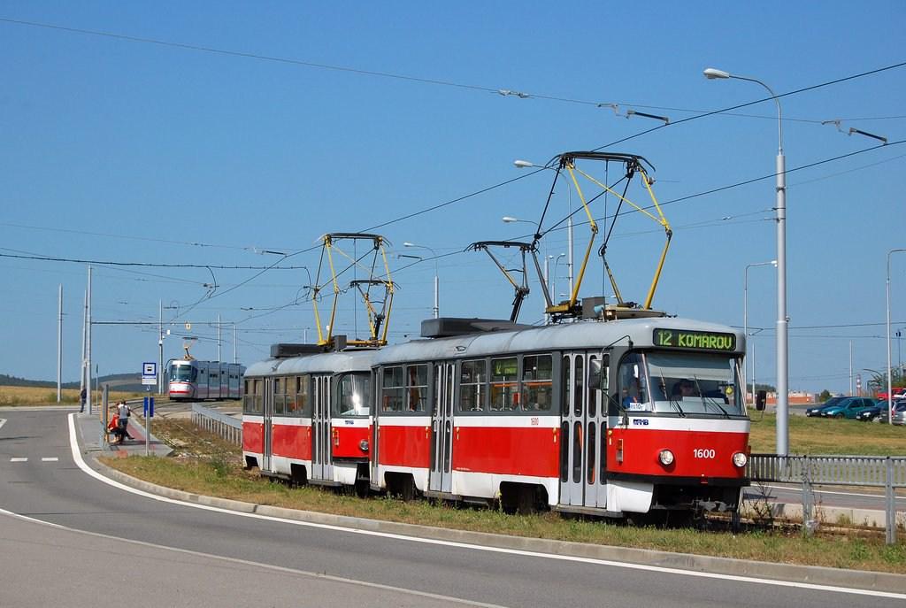 Fotogalerie » ČKD Tatra T3M 1600 | ČKD Tatra T3M 1601 | Brno | Medlánky | Purkyňova