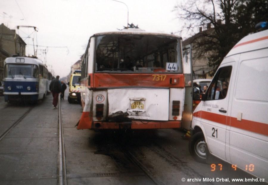 Fotogalerie » Karosa B732.1652 7317 | Brno | Královo Pole | Palackého třída