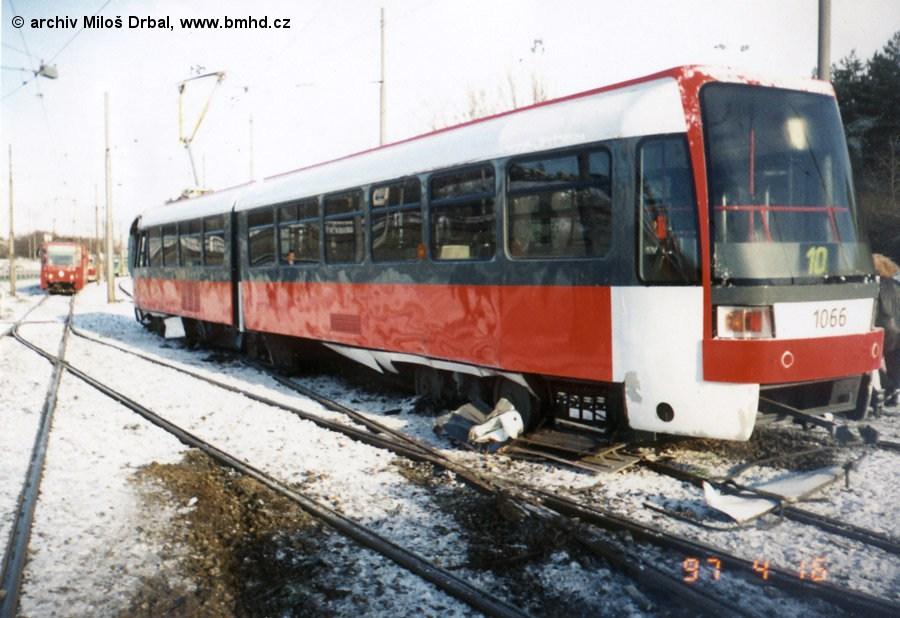 Fotogalerie » ČKD Tatra K2R 1066 | Brno | Juliánov | Ostravská