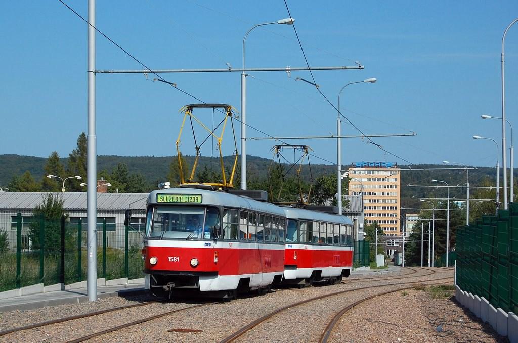 Fotogalerie » ČKD Tatra T3M 1581 | ČKD Tatra T3M 1582 | Brno | Medlánky