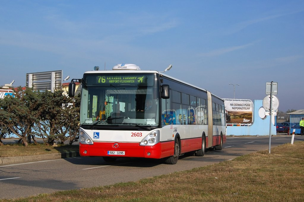 Fotogalerie » Irisbus Citelis 18M 2603 | Brno | Tuřany | Evropská