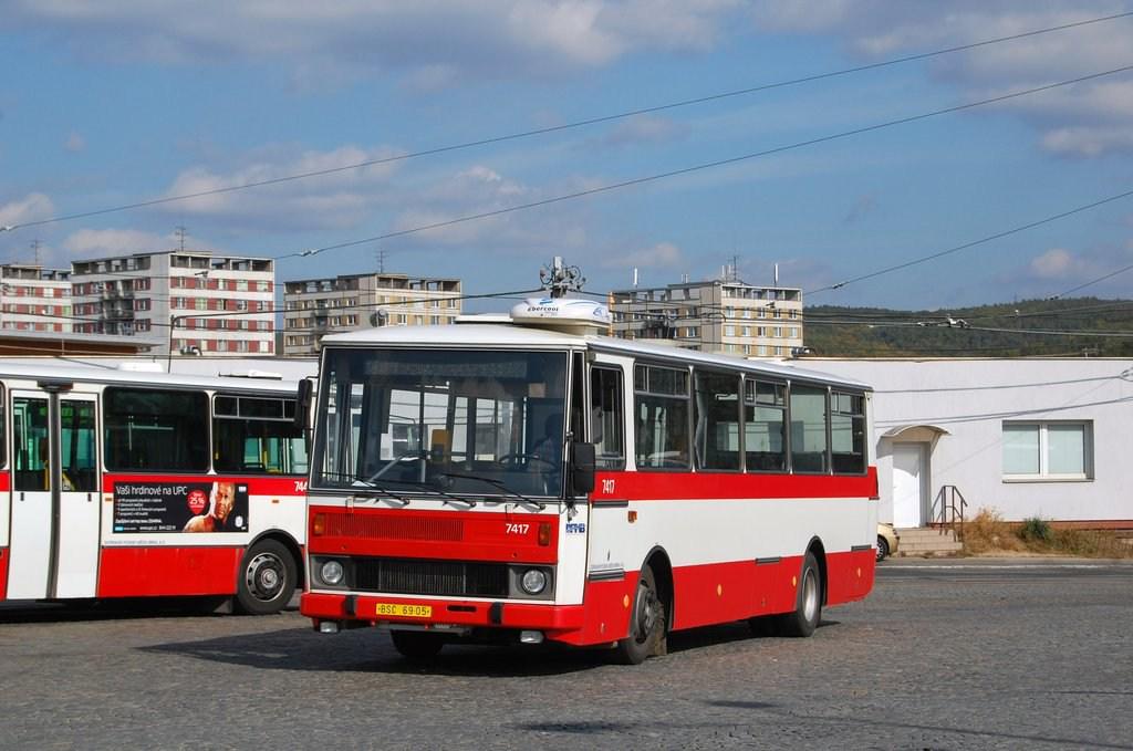 Fotogalerie » Karosa B731.1669 7417 | Brno | vozovna Medlánky