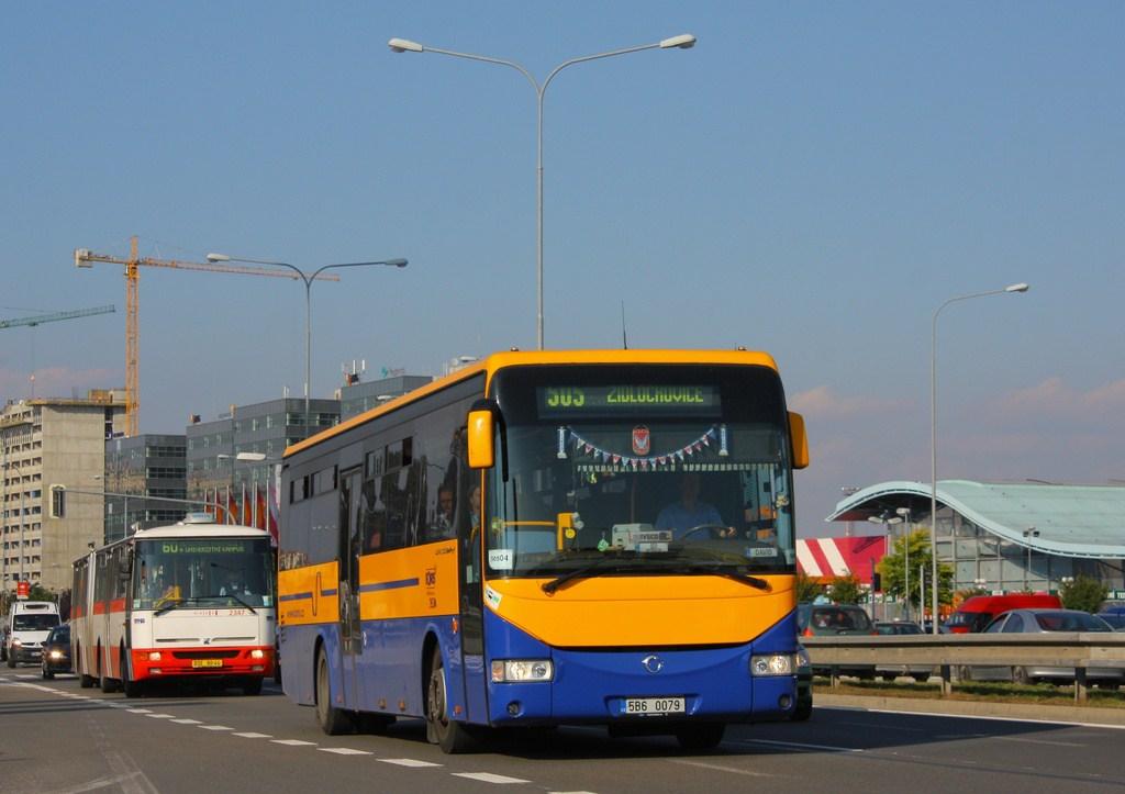 Fotogalerie » Irisbus Crossway 12M 5B6 0079   Brno   Štýřice   Heršpická