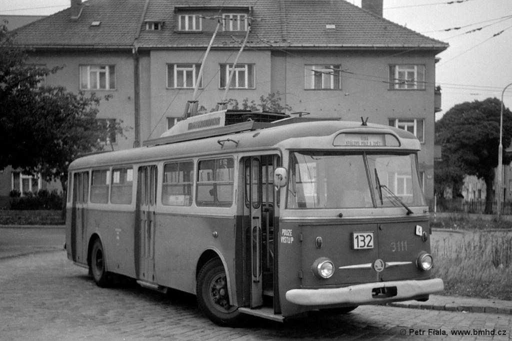 Fotogalerie » Škoda 9TrH25 3111   Brno   Královo Pole   Srbská   Srbská