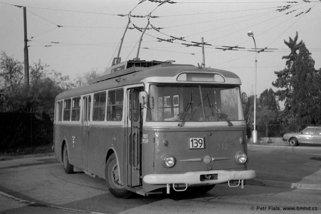 Fotogalerie » Škoda 9TrHT26 3125   Brno   Masarykova čtvrť   Barvičova   Barvičova