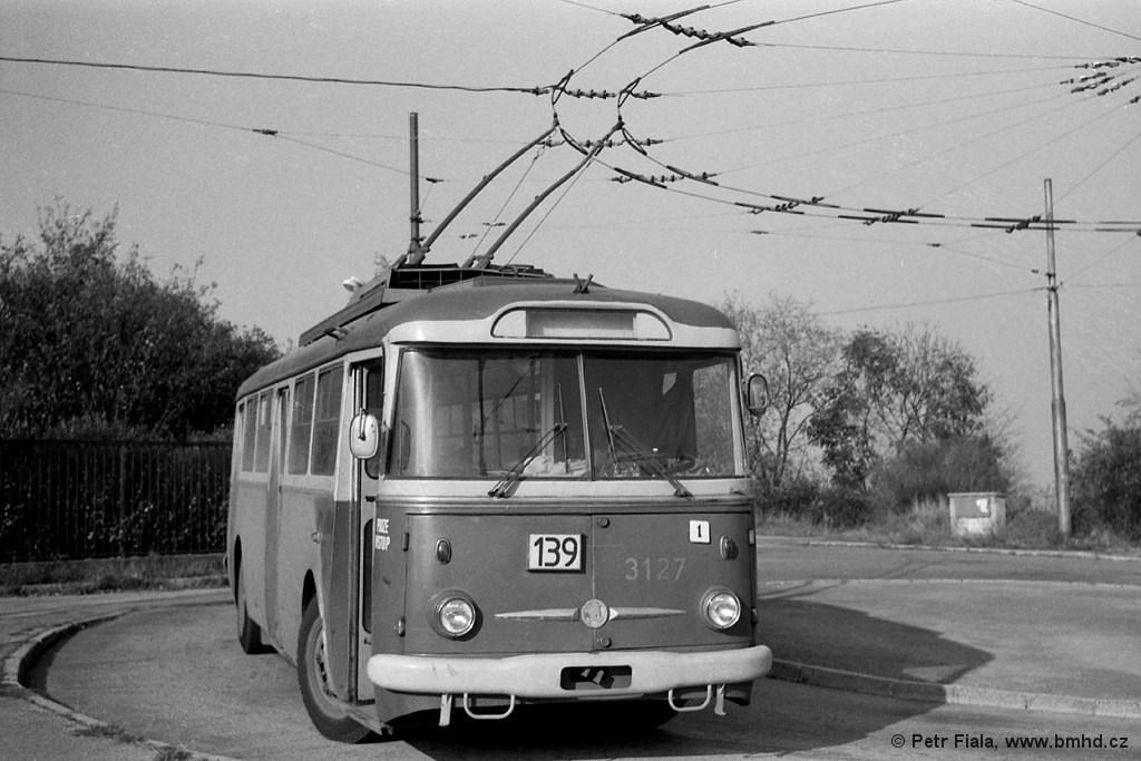 Fotogalerie » Škoda 9TrHT26 3127 | Brno | Masarykova čtvrť | Barvičova | Barvičova