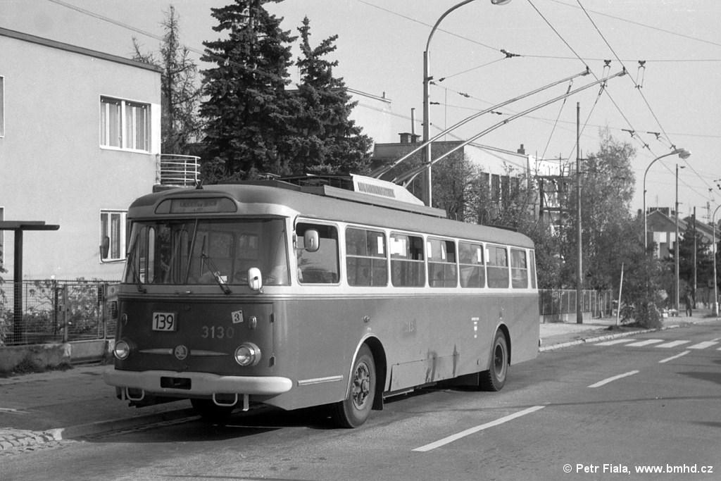 Fotogalerie » Škoda 9TrHT28 3130 | Brno | Masarykova čtvrť | Barvičova | Barvičova