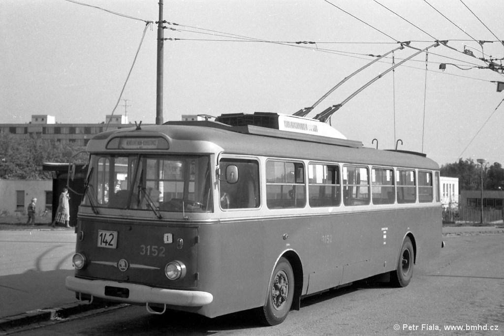 Fotogalerie » Škoda 9TrHT28 3152 | Brno | Kohoutovice | Libušina třída | Jírovcova