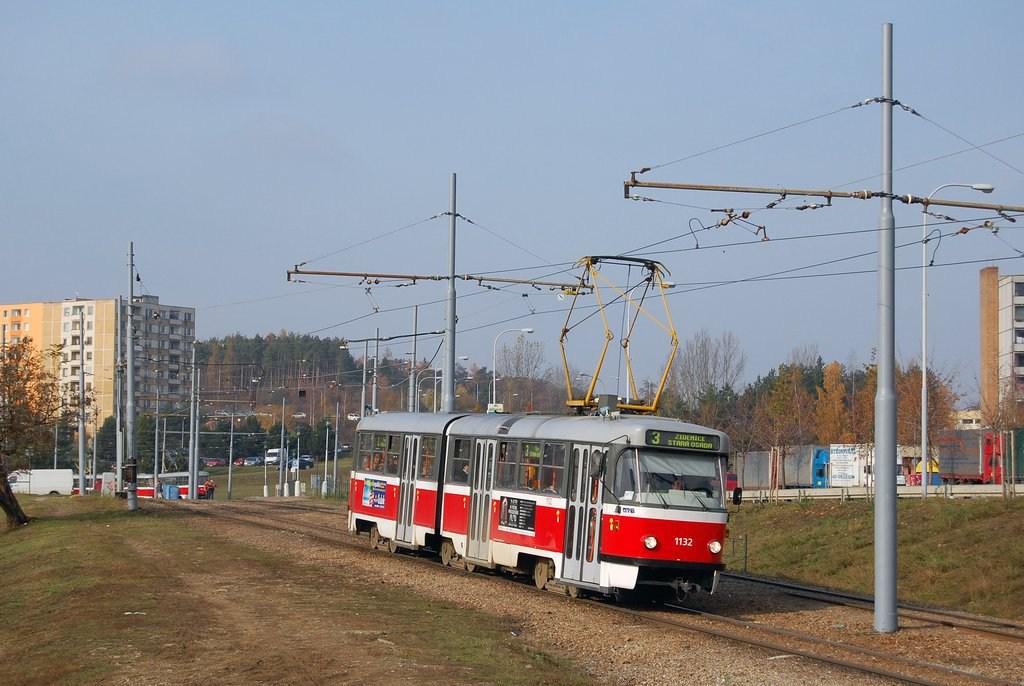 Fotogalerie » ČKD Tatra K2 1132 | Brno | Bystrc | Vejrostova