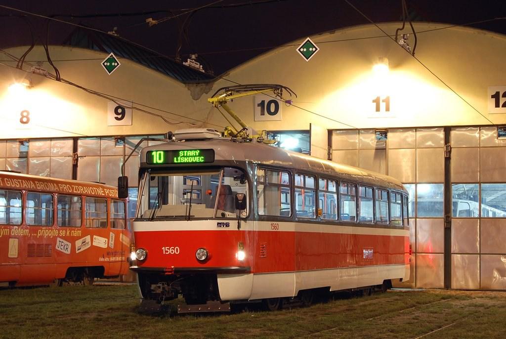 Fotogalerie » Pragoimex T3R.EV 1560 | Brno | vozovna Medlánky