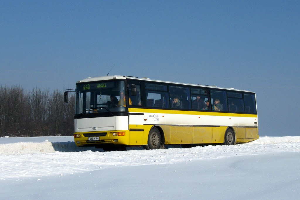 Fotogalerie » Karosa C954E.1360 2B3 4100 | Moravský Krumlov