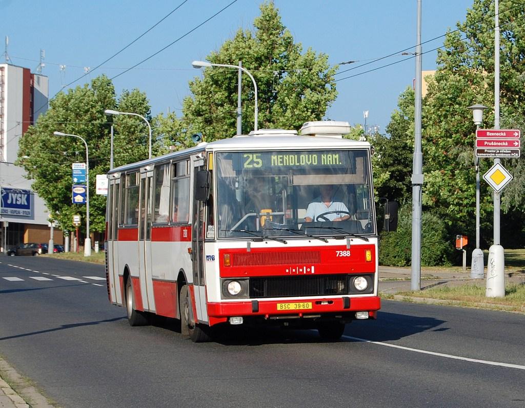 Fotogalerie » Karosa B732.1654.3 7388 | Brno | Vinohrady