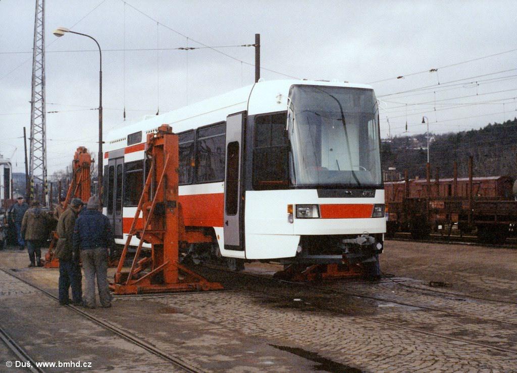 Fotogalerie » RT6N1 1801 | Brno | Královo Pole | Vlečka DP v Králově Poli