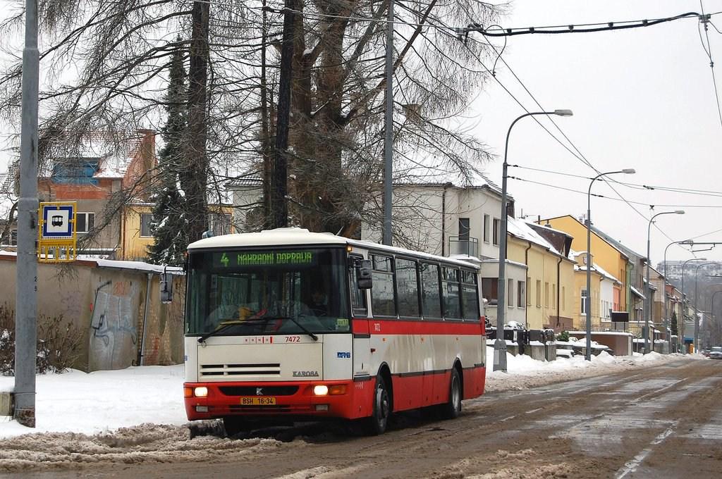 Fotogalerie » Karosa B931E.1707 7472 | Brno | Maloměřice | Obřanská | Babická