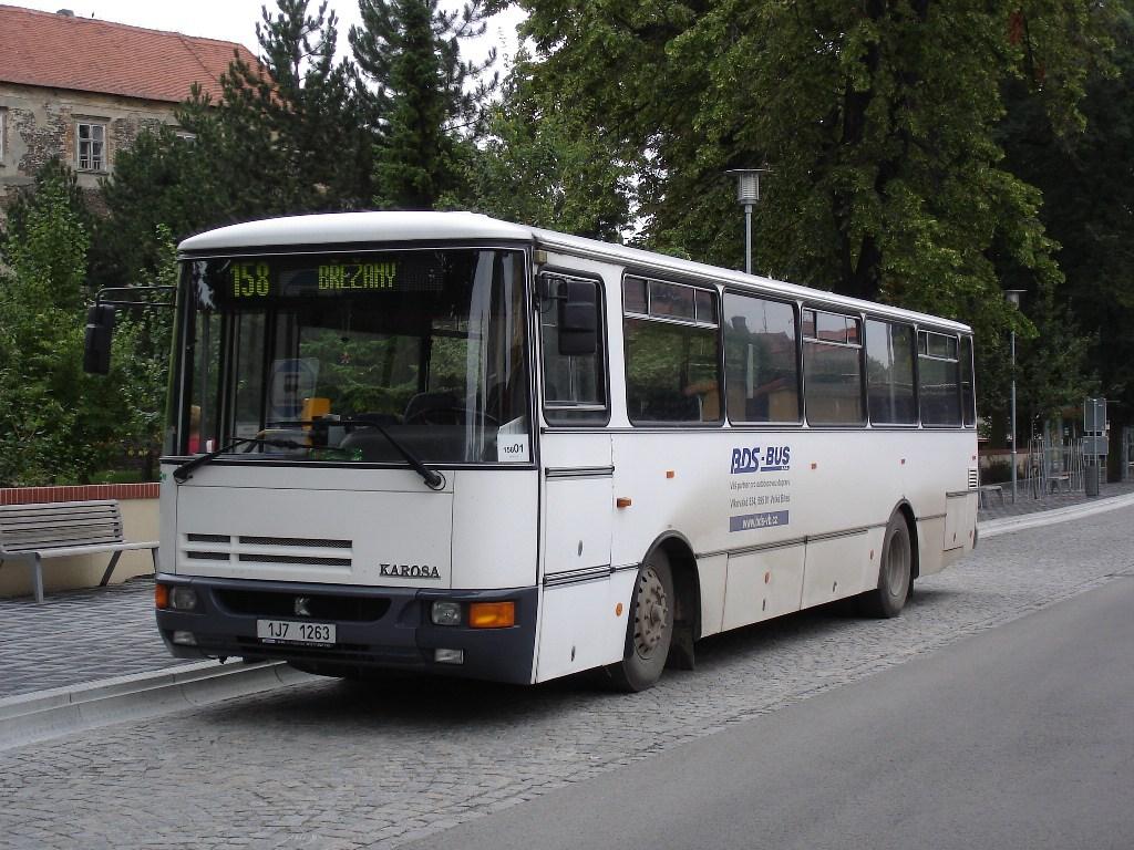 Fotogalerie » Karosa C734 1J7 1263 | Miroslav | Kostelní | Autobusová stanice