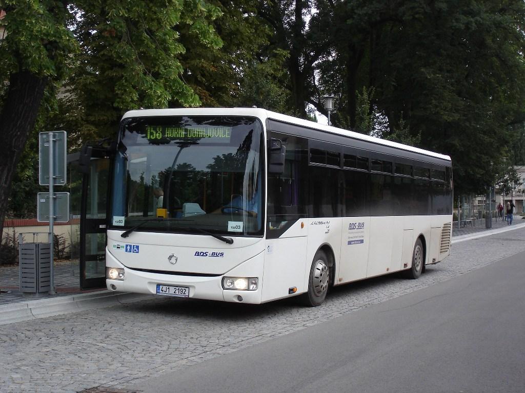 Fotogalerie » 4J1 2192 | Miroslav | Kostelní | Autobusová stanice
