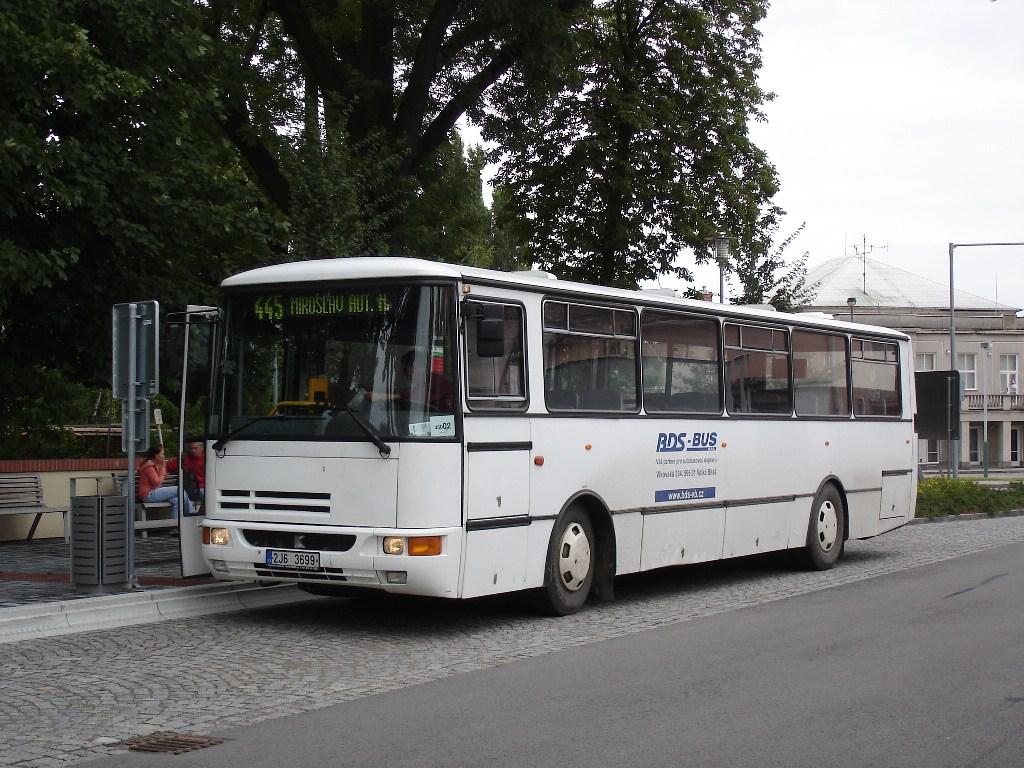 Fotogalerie » Karosa C734 2J6 3699 | Miroslav | Kostelní | autobusová stanice