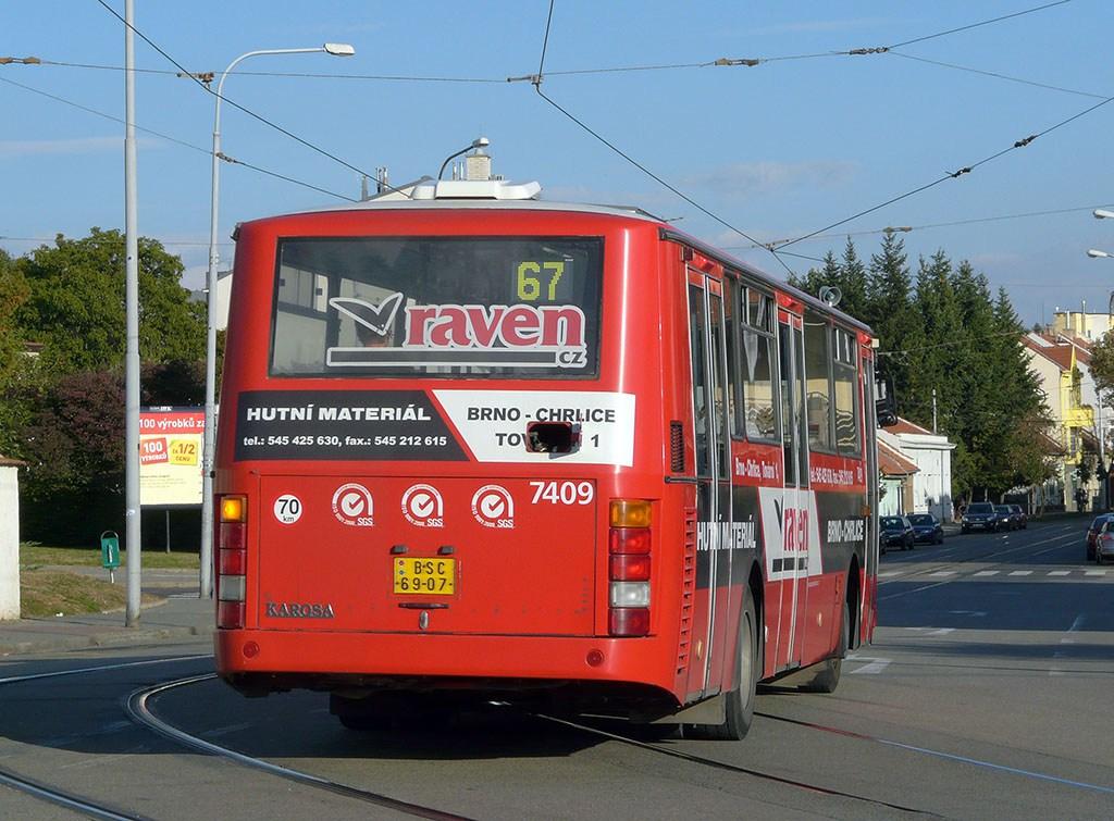 Fotogalerie » Karosa B731.1669 7409 | Brno | Žabovřesky | Rosického náměstí