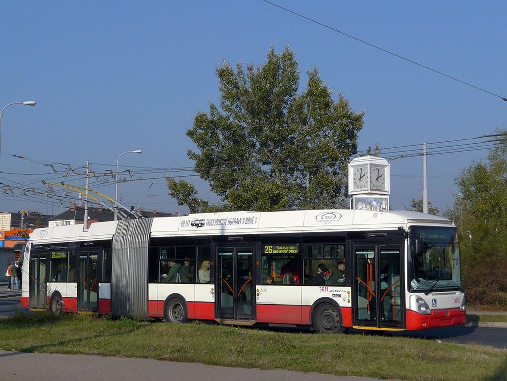 Fotogalerie » Škoda 25Tr Citelis 1B 3611 | Brno | Židenice | Bubeníčkova