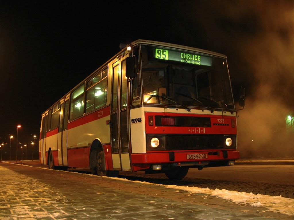 Fotogalerie » Karosa B732.40 7273 | Brno | Bohunice | Netroufalky | Univerzitní kampus, sever