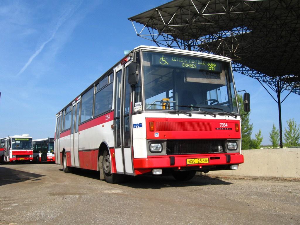 Fotogalerie » Karosa B732 pro invalidy 7354 | Brno | Tuřany | letiště Tuřany