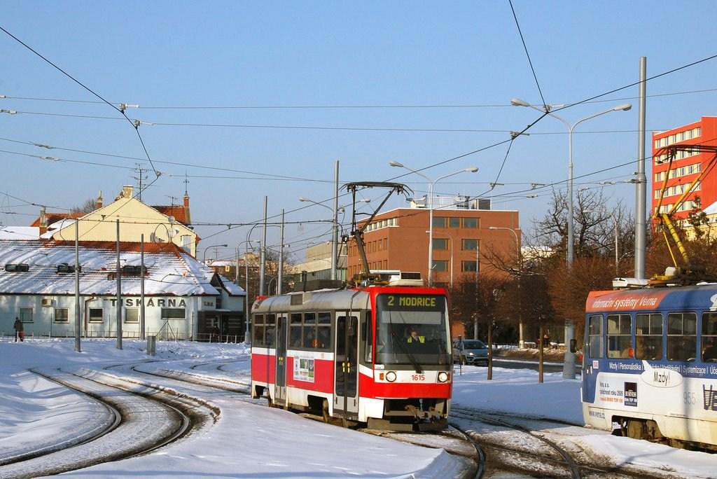 Fotogalerie » ČKD Tatra T3R 1615 | Brno | Štýřice | Vídeňská