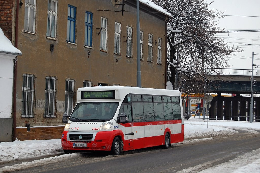 Fotogalerie » MAVE-Fiat CiBus ENA MAXI 7502 | Brno | Židenice | Životského | Životského