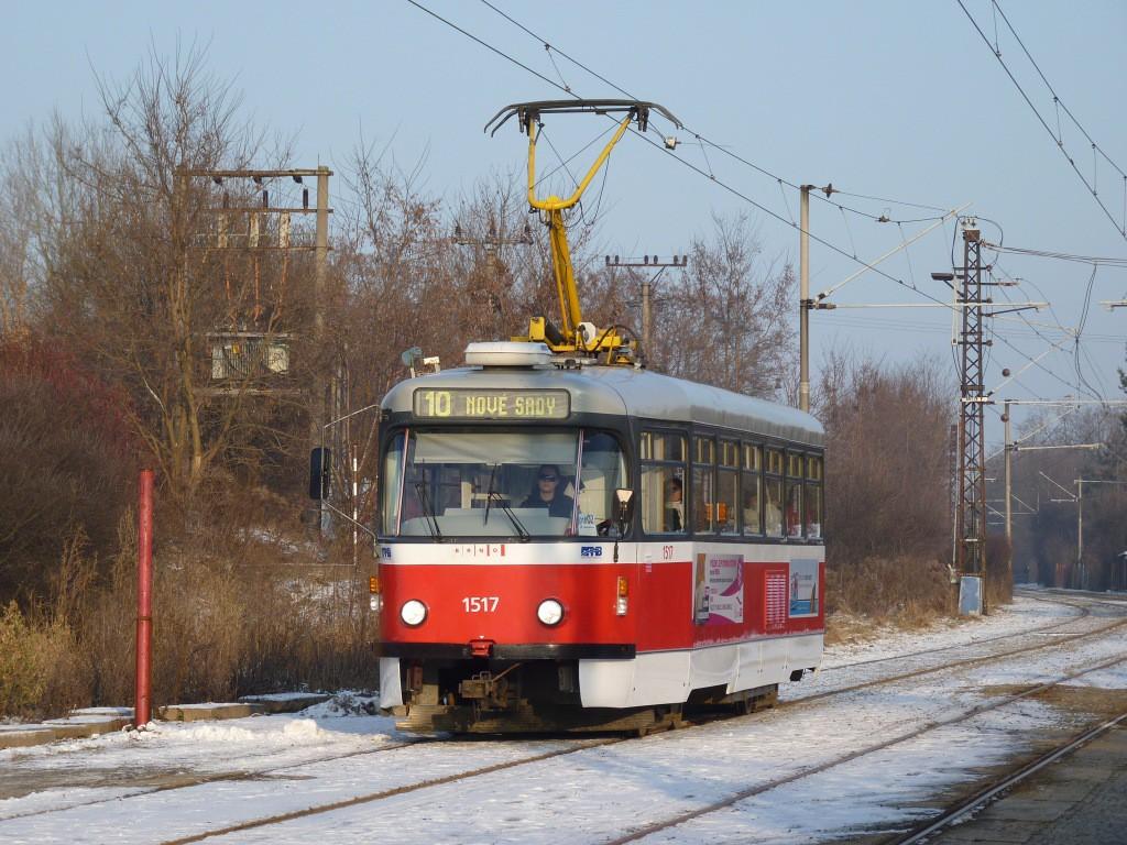 Fotogalerie » Pragoimex T3R.PV 1517 | Brno | Juliánov | Podstránská | Podstránská
