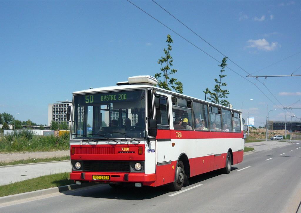 Fotogalerie » Karosa B732.1654.3 BSC 39-52 7380 | Brno | Bohunice | Kamenice | Univerzitní kampus