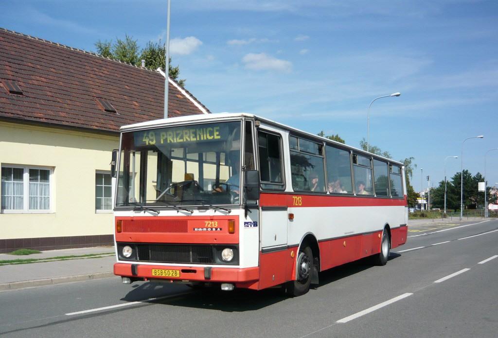Fotogalerie » Karosa B732.20 BSB 50-28 7213 | Brno | Komárov | Kšírova | Komárov