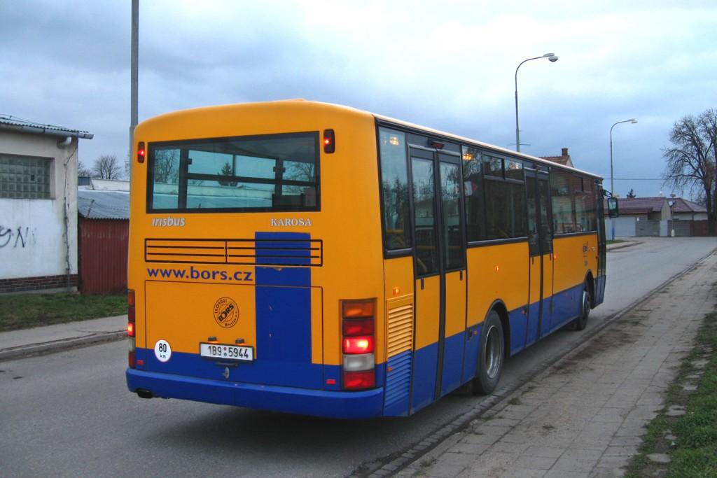 Fotogalerie » Karosa B952E.1712 1B9 5944 | Břeclav | Lanžhotská | Lanžhotská
