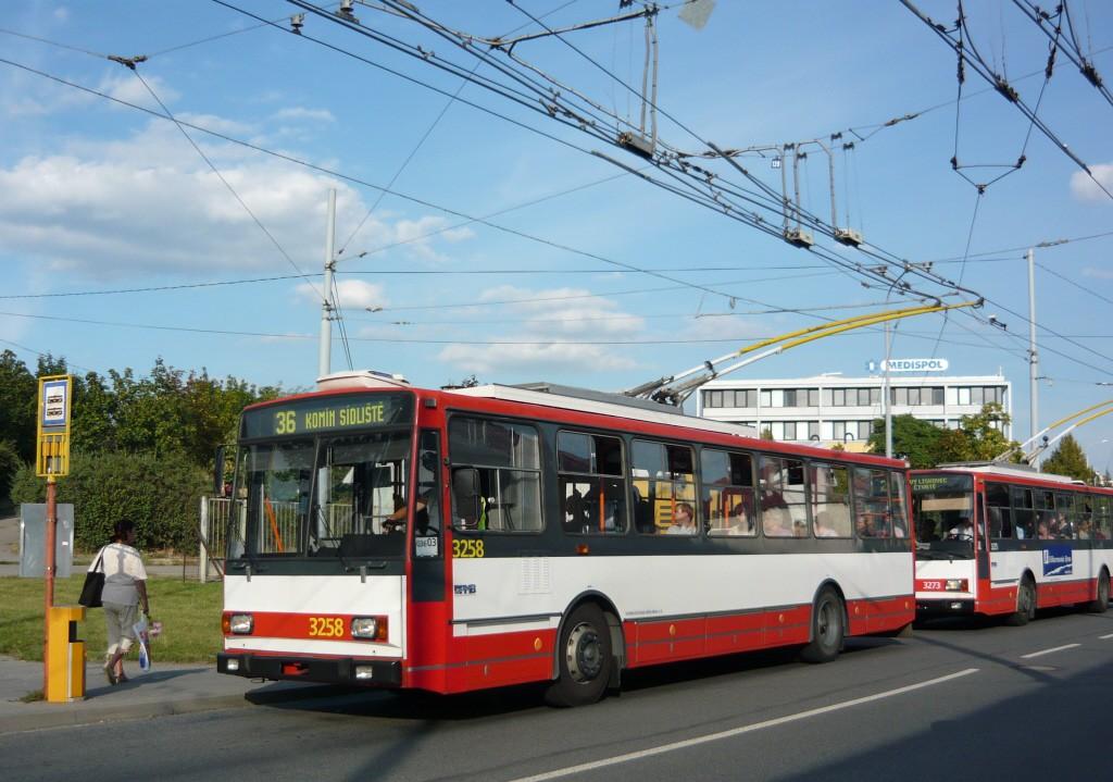 Fotogalerie » Škoda 14TrR 3258 | Brno | Žabovřesky | Přívrat | Přívrat