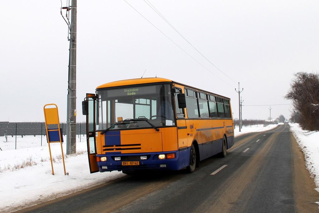 Fotogalerie » Karosa C934E.1351 BVI 67-42 | Moravský Žižkov | Prechov dvůr