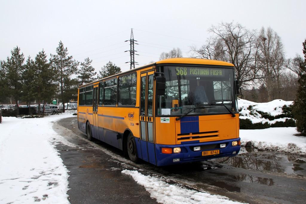 Fotogalerie » Karosa C934E.1351 BVI 67-42 | Břeclav | Poštorná | Hraniční | Fosfa