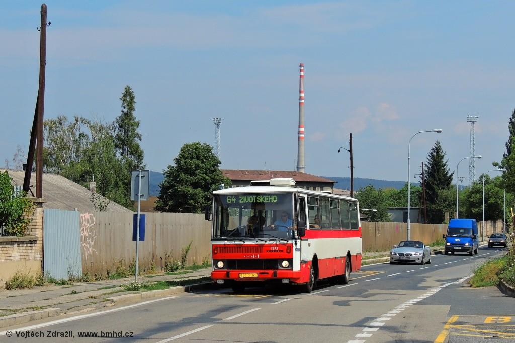 Fotogalerie » Karosa B732.1654.3 BSC 38-61 7373 | Brno | Maloměřice | Podsednická