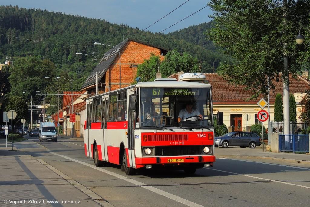 Fotogalerie » Karosa B732.1654 BSC 35-01 7364 | Brno | Jundrov | Veslařská