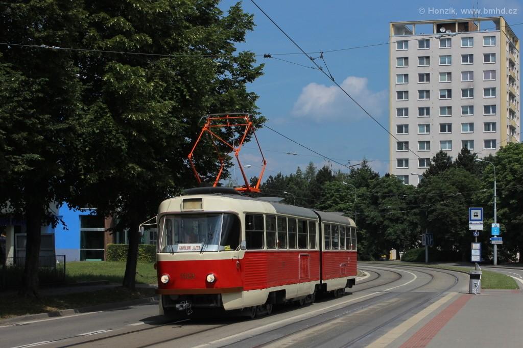 Fotogalerie » ČKD Tatra K2YU 1123   Brno   Královo Pole   Purkyňova   Technické muzeum