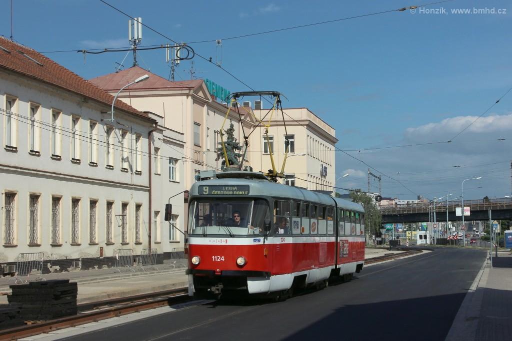 Fotogalerie » ČKD Tatra K2 1124 | Brno | Černovice | Olomoucká
