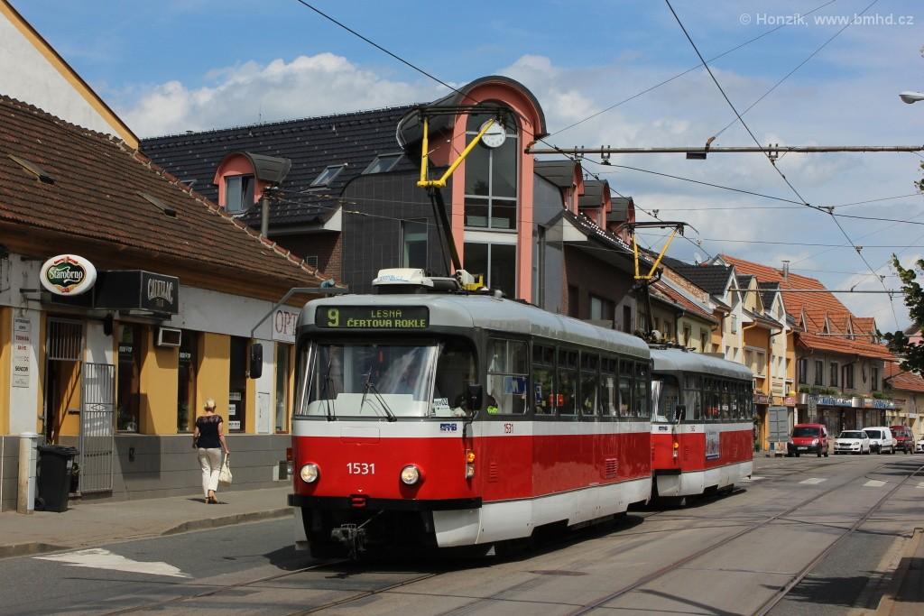 Fotogalerie » Pragoimex T3R.EV 1531 | Pragoimex T3R.EV 1562 | Brno | Židenice | Táborská