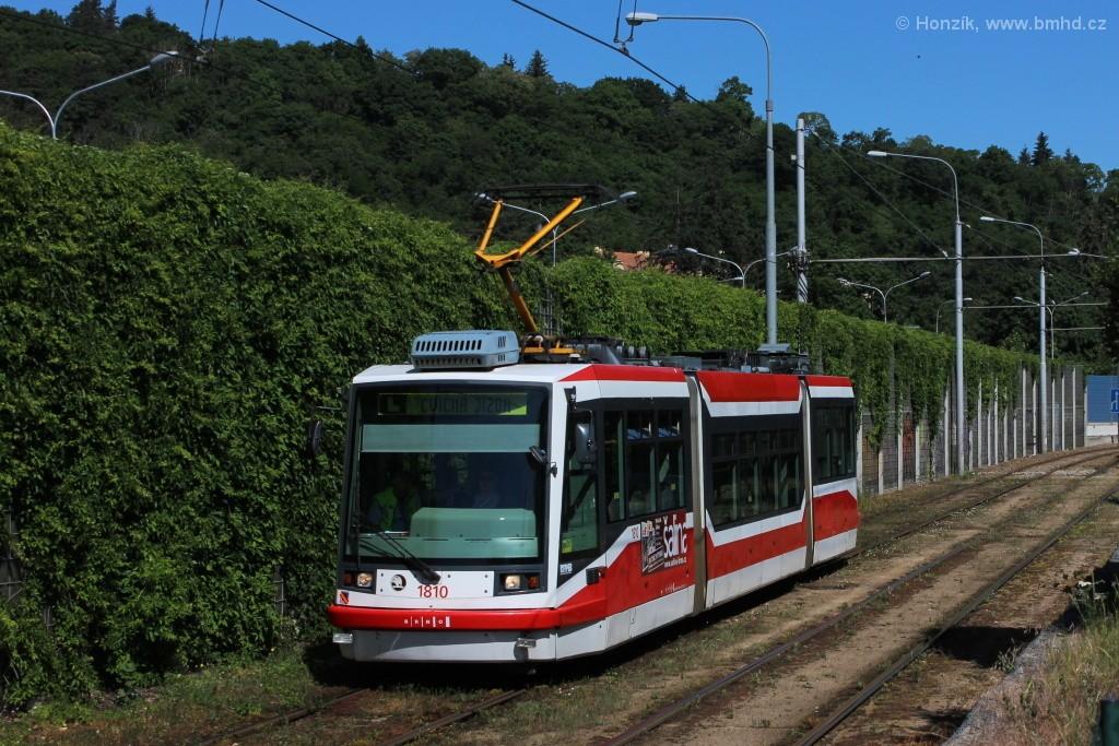 Fotogalerie » Škoda 03T6 1810   Brno   Pisárky   Žabovřeská