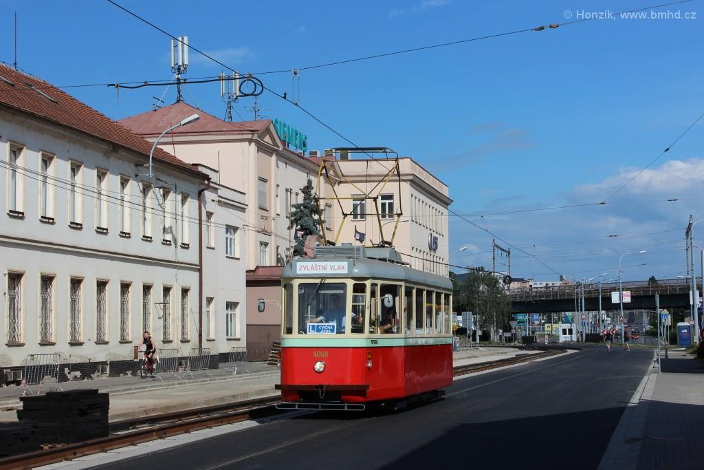 Fotogalerie » SBEPD 4MT4 4058 | Brno | Černovice | Olomoucká