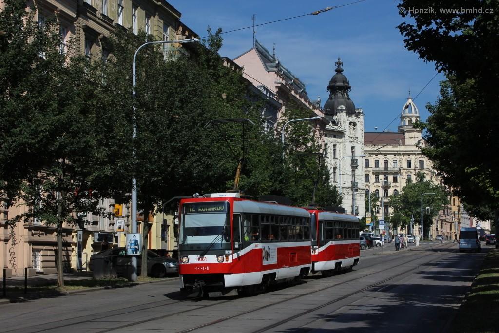 Fotogalerie » ČKD DS T3R 1661 | ČKD DS T3R 1662 | Brno | střed | Veveří
