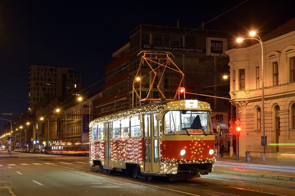 Fotogalerie » ČKD Tatra T3 1525 | Brno | střed | Štefánikova | Pionýrská