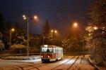 Vánoční tramvaj v prvním roce provozu