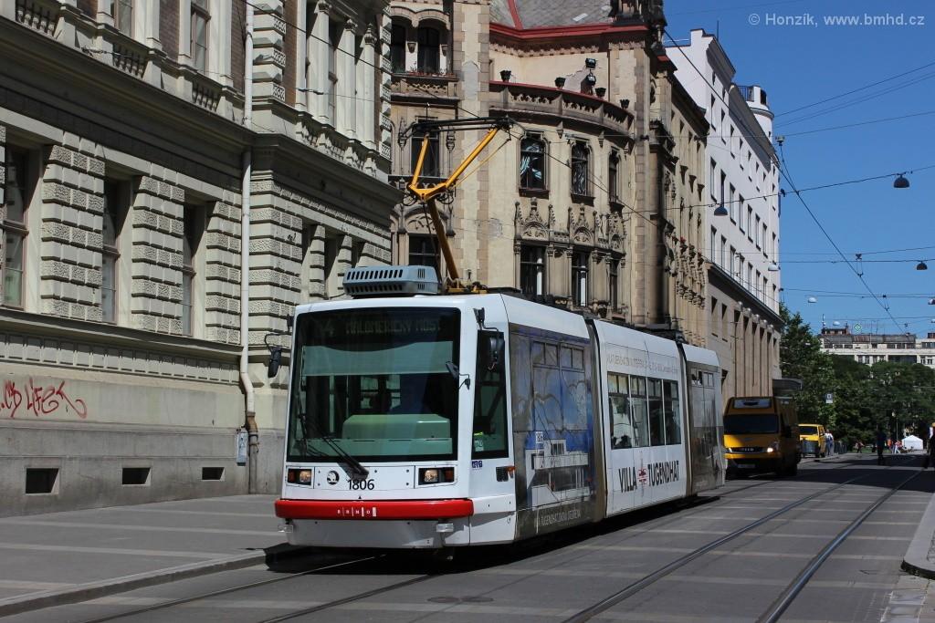 Fotogalerie » Škoda 03T6 1806   Brno   střed   Rašínova